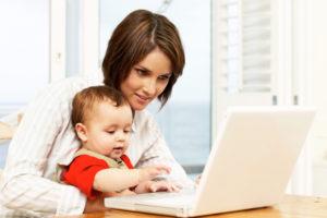 Работа для мамы в дектрете